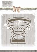 Precious Marieke Die Rustic Christmas PM10041 Stone Vase