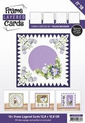 Linnen Layered Frame Cards LC4K10018/- 4kant