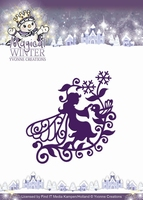Yvonne's Die YCD10043 Magical winter Fairy