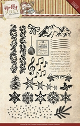 Stempel Yvonne Creations YCCS10025 Holly Jolly