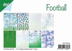 Joy! A4 Papier 6011/0523 Voetbal