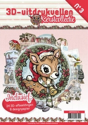 A4 Push Out Book 3D PO10003-NL Kerstcollectie