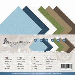 Amy Design Linnenkarton AD-A5-10013 Vintage Winter