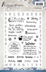 Amy Design Clearstamp ADCS10022 Vintage Winter