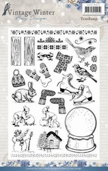 Amy Design Clearstamp ADCS10021 Vintage Winter