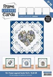 Linnen Layered Frame Cards LC4K10019/- 4kant
