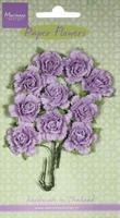 MD Paper Flowers RB2260 Carnations - light lavender/lavendel