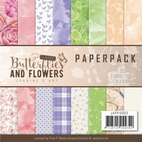 Paperpack Jeanine JAPP10003 Classic Butterflies and Flowers
