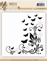 Cut and Emboss folder Jeanine JAEMB10004 Classic Butterflies