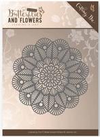 Die Jeanines Art JAD10022 Classic Butterflies and Flowers