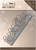 Die Jeanines Art JAD10021 Classic Butterflies and Flowers
