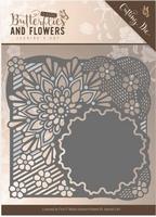 Die Jeanines Art JAD10020 Classic Butterflies and Flowers