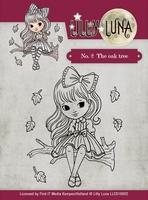 Yvonne Lilly Luna 1 Clearstamp LLCS10002 The Oak Tree