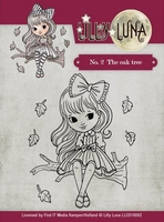 Clearstamp Lilly Luna LLCS10002 The Oak Tree