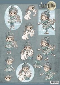 Yvonne Lilly Luna 3D Knipvel CD11005 Ice Princess