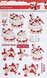 Boofle Christmas BOF160106 A4 Stansvel Carol Singing