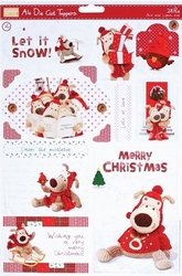 Boofle Christmas BOF157115 A4 Stansvel Let it Snow