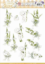 3D Stansvel Marieke Early Spring SB10228 Early Snowdrops