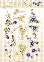 3D Knipvel Marieke Early Spring CD11026 Early Daffodils