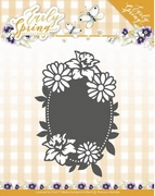 Precious Marieke Early Spring Die PM10114 Flowers Oval label