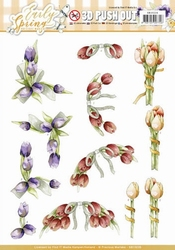 3D Stansvel Marieke Early Spring SB10226 Early Tulips