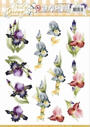 3D Stansvel Marieke Early Spring SB10225 Early Irises