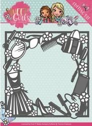 Yvonne's Cut & Embos Die YCD10119 Sweet Girls Fashion Frame