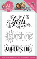Stempel Yvonne Creations YCCS10038 Sweet Girls
