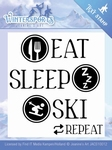 Clearstamp Jeanines Art JACS10012 Wintersports