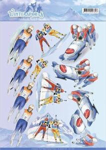 A4 Knipvel Jeanines Art CD110028 Wintersports