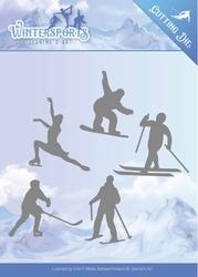 Die Jeanines Art JAD10030 Wintersports Winter Sporting