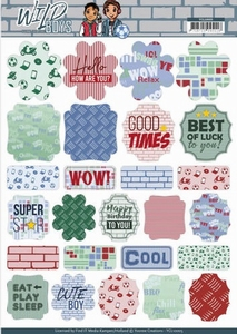 Labels Yvonne Creations YCL10005 Wild Boys