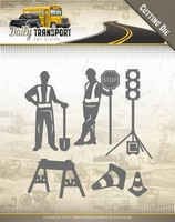 Amy Design Die ADD10130 Daily Transport Road Construction