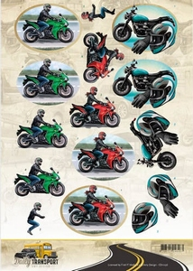 3D Knipvel Amy CD11036 Daily Transport Motor Cycling