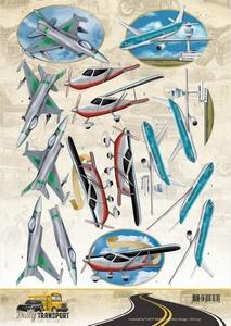 3D Knipvel Amy CD11037 Daily Transport Flying High