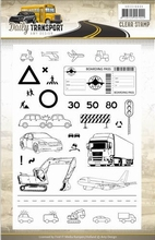 Amy Design Clearstamp ADCS10035 Daily Transport