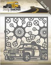 Amy Design Die ADD10127 Daily Transport Car Frame