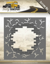 Amy Design Die ADD10128 Daily Transport Brick in the Wall