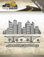 Amy Design Die ADD10129 Daily Transport In the City