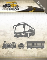 Amy Design Die ADD10131 Daily Transport Public Transport