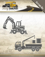 Amy Design Die ADD10133 Daily Transport Construction Vehicle