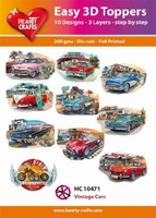 Easy 3D Toppers HC10471 Vintage cars