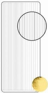 Sticker Peel-off 0072 Diverse brede en smalle rechte randen