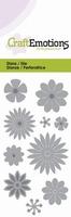 CraftEmotions Die 115633/0168 Bloemenmix