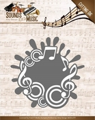 Amy Design Die ADD10135 Sounds of Music Label