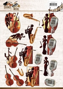 3D Knipvel Amy CD11062 Sounds of Music Jazz