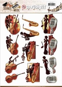 3D Stansvel Amy SB10242 Sounds of Music Jazz
