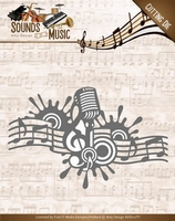 Amy Design Die ADD10137 Sounds of Music Border