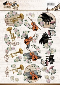 3D Knipvel Amy CD11063 Sounds of Music Classic