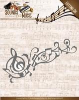 Amy Design Die ADD10136 Sounds of Music Swirl